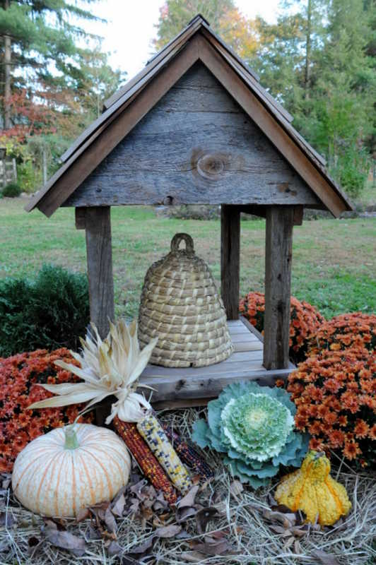 Bee Skep Shelter Teracottage